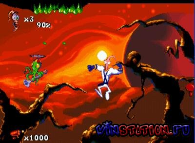 Earthworm Jim 2 для Sega Mega Drive/Genesis