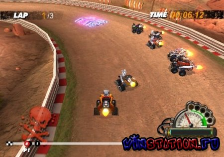 —качать игру High Voltage Hot Rod Show (Wii)