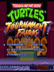 Teenage Mutant Ninja Turtles - Tournament Fighters