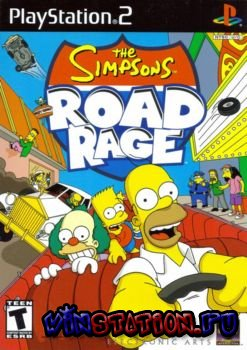 Скачать игру The Simpsons Road Rage (PS2)