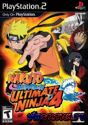 —качать Naruto Shippuden Ultimate Ninja 4 (PS2) бесплатно