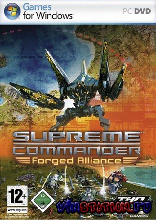Скачать Supreme Commander: Forged Alliance v.1.5 (PC) бесплатно