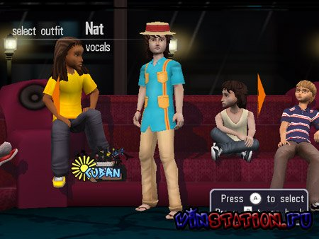 Naked Brothers Band: The Video Game (Wii)