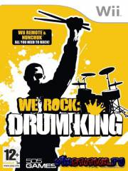 We Rock Drum King  (Wii)