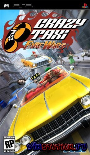 —качать игру Crazy Taxi: Fare Wars (PSP)