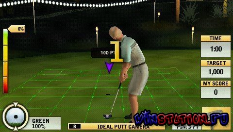 Tiger Woods PGA TOUR 10 (PSP)