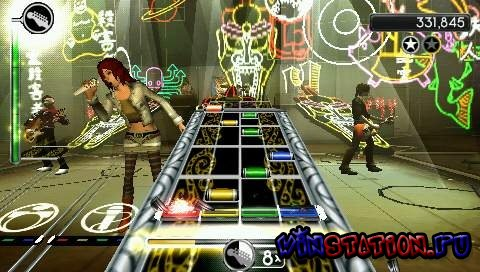 Скачать игру Rock Band: Unplugged (PSP)