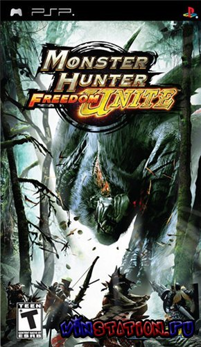 —качать Monster Hunter Freedom Unite (PSP) бесплатно