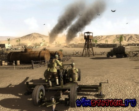 ������� ��������� �����: ������ 1943 / Theatre of War 2: Africa 1943 (PC) ���������