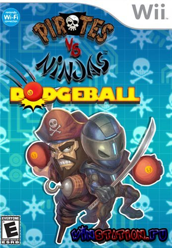 Pirates Vs Ninja Dodgeball (Wii)
