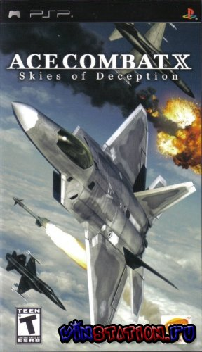 Скачать игру Ace combat X: Skies of Deception (PSP)