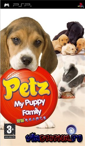Скачать игру Petz: My Puppy Family (PSP)