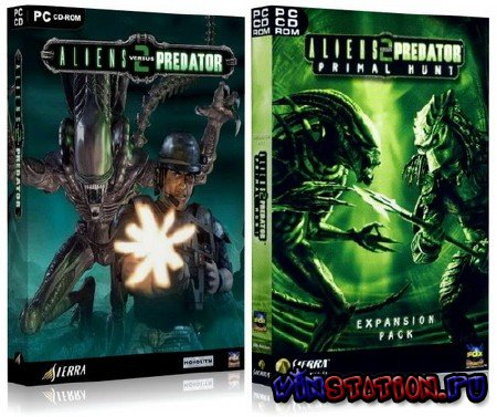 Скачать Aliens vs. Predator 2: Primal Hunt (PC) бесплатно