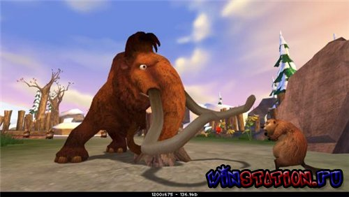 Ice Age 3: Dawn of the Dinosaurs (Wii)