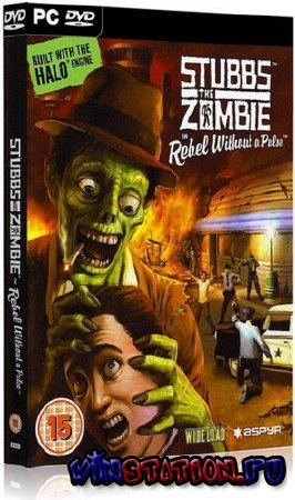 Скачать Stubbs the Zombie in Rebel without a Pulse (PC) бесплатно
