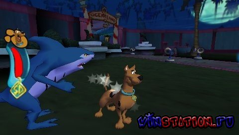 ������� ���� Scooby Doo! Who's Watching Who? (PSP)