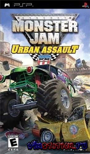 Monster Jam: Urban Assault (PSP)