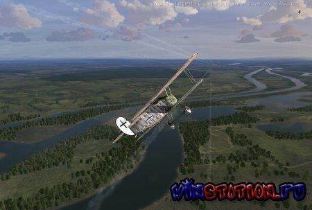 Rise of Flight The First Great Air War геймплей