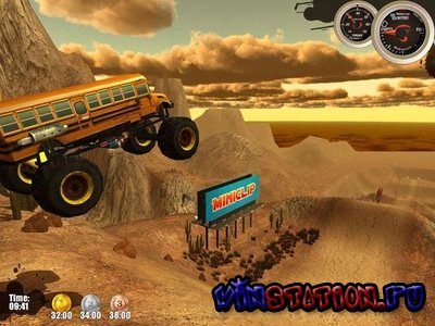 Скачать Monster Trucks Nitro 1.31 (Mini game) бесплатно