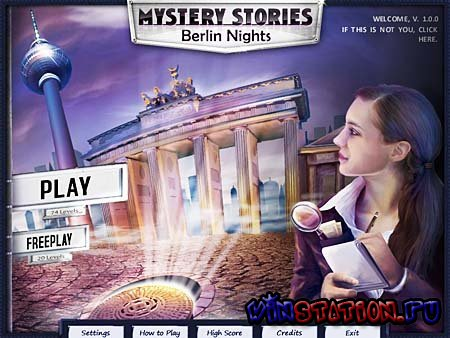 Скачать Mystery Stories: Berlin Nights (PC) бесплатно