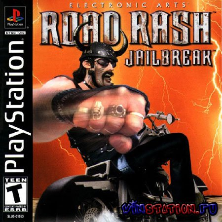 —качать игру Road Rash JailBreak (PSX)