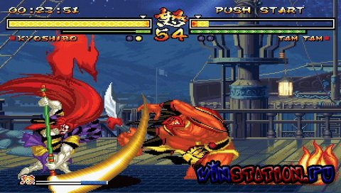 Samurai Shodown Anthology (PSP)