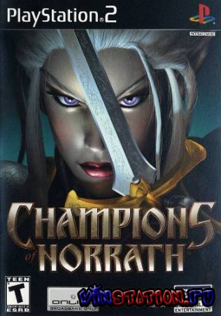 —качать Champions of Norrath: Realms of Everquest (PS2/RIP) бесплатно