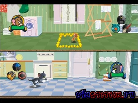������� ������� ���� ������� ���� ������� ���� ������� ���� ������� ���� Tom and Jerry in House Trap (PSX) ���������