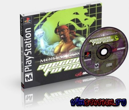 Скачать игру Mortal Kombat - Special Forces (PSX)