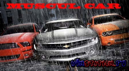 Скачать Muscle Car Games Pack 3in1 (PC) бесплатно