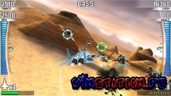 After Burner: Black Falcon (PSP)