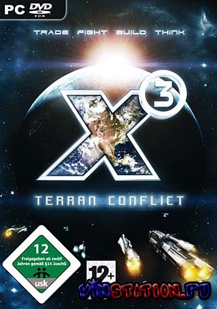 Скачать X3: Terran conflict (PC/FULL/RUS) бесплатно