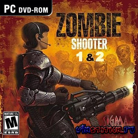 Скачать Zombie Shooter 1-2 (PC/RUS) бесплатно
