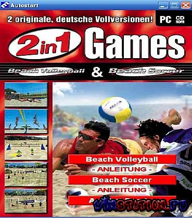 Скачать Beach Volleyball & Beach Soccer 2 in 1(PC/RUS) бесплатно