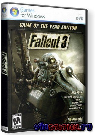 Скачать Fallout 3: Game Of The Year Edition (PC) бесплатно