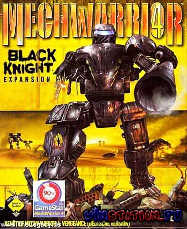 Скачать MechWarrior 4 : Vengeance + Black knight (PC/RUS) бесплатно