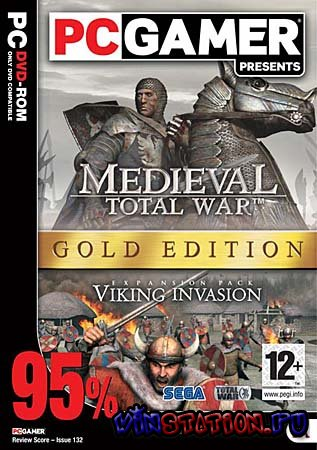 Скачать игру Medieval Total War-Viking Invasion Golden Pack(PC/RUS)