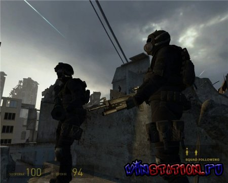 Mercenaries Trilogy 3.0 Half-life 2 MOD (PC/RUS)
