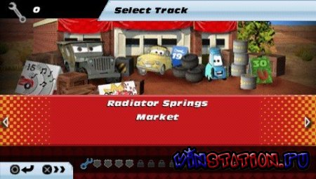Cars Race-O-Rama (PSP)