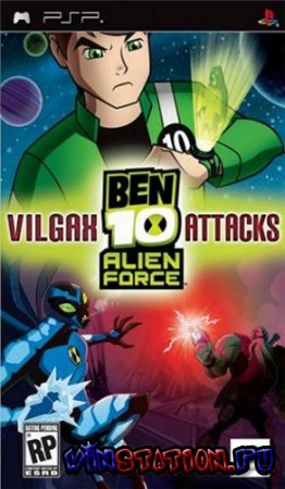 Скачать Ben 10: Alien Force - Vilgax Attacks (PSP) бесплатно