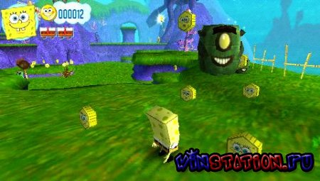 —качать SpongeBob's: Truth or Square (PSP) бесплатно
