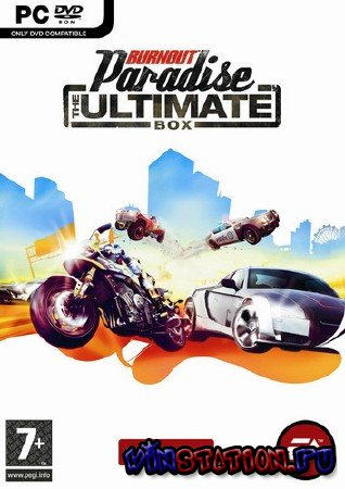 Скачать Burnout Paradise: The Ultimate Box (PC/RUS/Repack) бесплатно