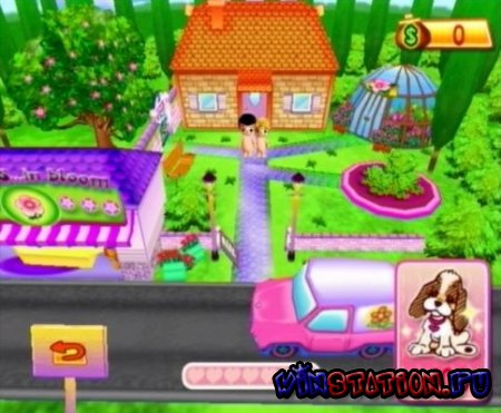 Love Is In Bloom: The Flower Shop Garden (Wii)
