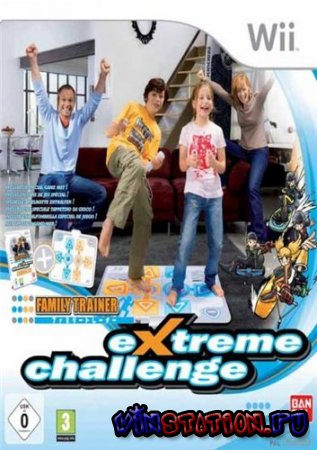 Family Trainer Extreme Challenge (Wii)
