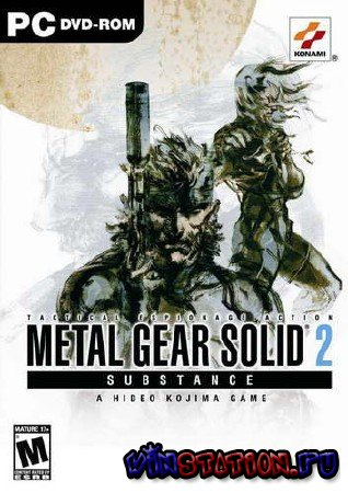 Скачать Metal Gear Solid 2 Substance (PC/RUS) бесплатно