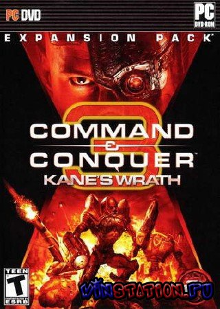Скачать Command & Conquer 3: Kane's Wrath v.1.02 (PC/2008/RUS/RIP) бесплатно