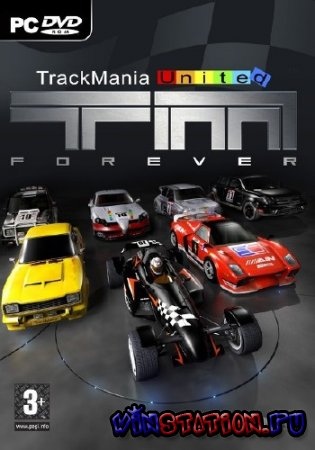 Скачать TrackMania United Forever Star Edition (PC/RUS/Repack) бесплатно