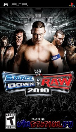 —качать WWE Smackdown vs. Raw 2010 (PSP) бесплатно