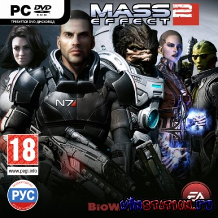 Скачать Mass Effect 2. Digital Deluxe Edition (PC/2010/RUS) бесплатно