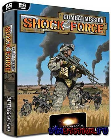 Скачать Combat Mission: Shock Force Marines (PC/RUS) бесплатно